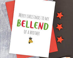 funny brother card etsy
