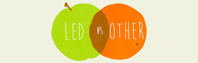 the difference in quality led lighting vs incandescent