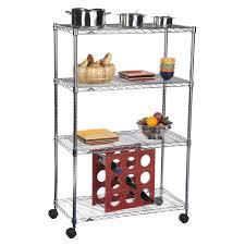 metal kitchen island kitchen portable metal kitchen pantry shelves on wheels with
