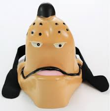vintage walt disney goofy halloween mask cesar costume mickey