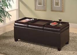 coffee table excellent leather coffee table with shelf leather