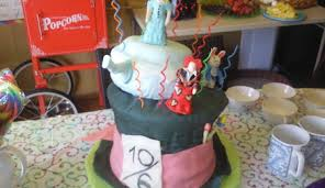 musical mad hatter hat birthday cake cakecentral com
