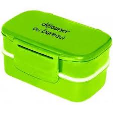 d駛euner au bureau boîte repas déjeuner au bureau couleur vert achat vente lunch