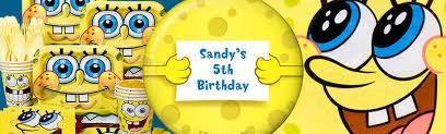 Spongebob Centerpiece Decorations by Spongebob Birthday Party Supplies Wholesalepartysupplies Com