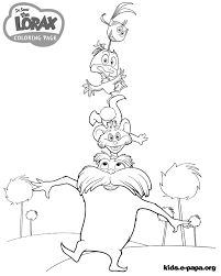 dr seuss coloring books lorax coloring pages dr seuss the lorax coloring pages for kids