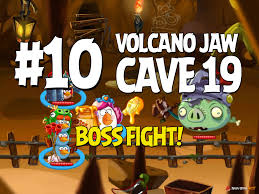 angry birds epic volcano jaw level 10 walkthrough chronicle cave