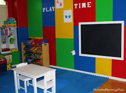 furniture amazing playroom ideas with wooden flooring and blue
