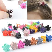 hair accessories for kids 10 pcs lot candy color mini small hair claw hair kids