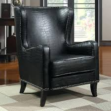 wingback couch wingback leather armchair pottery barn tufted leather chair toffee