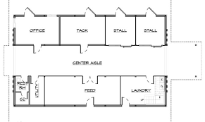stunning house barn combo floor plans ideas building plans