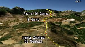 Camino De Santiago Map Camino De Santiago Google Earth Image 05 Sahagun Leon Cruz De
