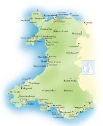 Map Of Wales And England by Eurowales Uk And Europe Travel And Golf Specialists