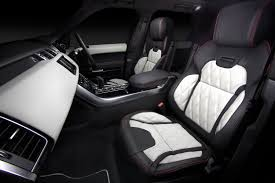 land rover white interior sport modified by overfinch