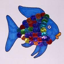 12 rainbow fish craft images ocean crafts