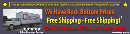 h j closeouts wholesale products at rock bottom prices