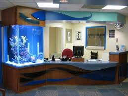 Fish Tank Desk by Shands Children U0027s Surgical Center Renovation Donnelly Architecture