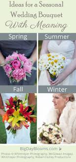 wedding flowers meaning wedding bouquet flowers by season