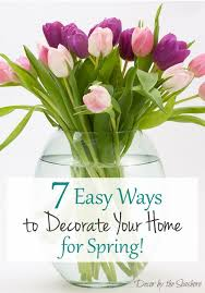 Spring Decorating Ideas For The Home Easy Ways To Decorate For Spring Decor By The Seashore