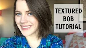 styling shaggy bob hair how to how to style a textured messy bob easy quick hair tutorial