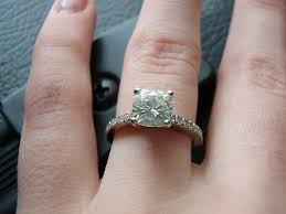 wedding ring reviews inspiring moissanite engagement ring reviews 16 with additional