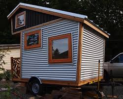 tiny cabin on wheels 75 sq ft funky micro cabin on wheels tiny house pins