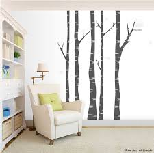 Tree Wall Decals For Living Room Clearance Dark Grey 96