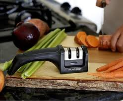 How To Sharpen Kitchen Knives At Home Knife Sharpener Priority Chef