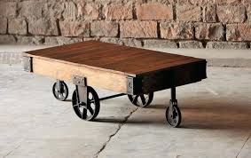 Rustic Industrial Coffee Table Industrial Coffee Table Tahrirdata Info