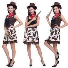 Cowgirl Halloween Costumes Adults Cheap Western Halloween Costumes Aliexpress