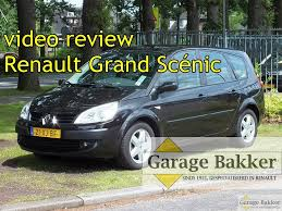renault grand scenic 2007 video review renault grand scénic 2 0 16v business line lpg g3