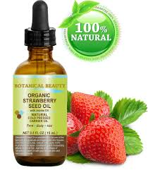 amazon com strawberry seed oil organic 100 pure moisturizer