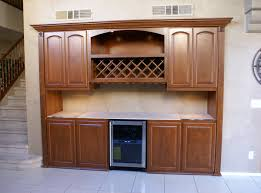 Bar Cabinet With Wine Cooler Home Bar Cabinets U0026 Murphy Beds In Las Vegas