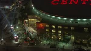 Light The Night Houston Toyota Center Front Entrance A Bird U0027s Eye View Of Houston U0027s