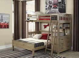 crosspointe collection twin over full l shape bunk beds in