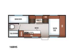 Forest River Travel Trailers Floor Plans 2018 Forest River Cherokee Wolf Pup 16bhs Claremont Nc