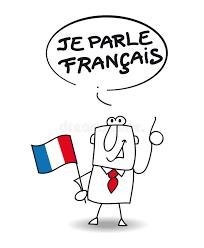 ich spr che ich spreche französisch vektor abbildung bild übersetzung