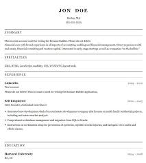 Resume Creator Online Free Resume What Are Some Free Resume Builder Sites What Are Some Free Resume