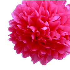 7 mixed size tissue paper pom pom shades of pink u0026 purple u2013 dotoly