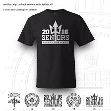 high school senior t shirts pacifica high school seniors rally tshirts republic design company