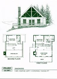 small cabin designs and floor plans edgewood 2 bed 2 bath 1 5 stories 1148 sq ft appalachian