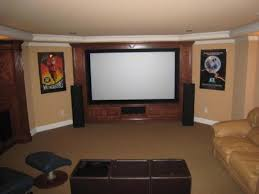 Home Theater Room Decorating Ideas Basement Home Theater Design Ideas Simple Basement Home Theater