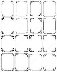 ornament frames stock vector baavli 5451962