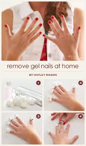 how to remove gel nail polish at home without ruining your nails