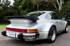 porsche 930 whale tail porsche 930 turbo coupe auctions lot 28 shannons