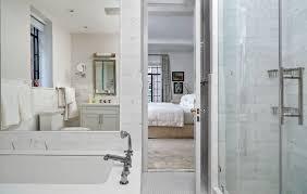 contemporary skyscraper apartment master bathroom design in tai