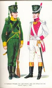 2nd Light Dutch Chasseur 3rd Light Infantry U0026 Officer 2nd Line Infantry