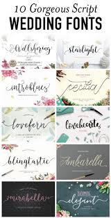 wedding invitations font 10 beautiful script wedding fonts from creative market