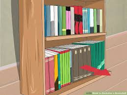 how to declutter a bookshelf 15 steps with pictures wikihow