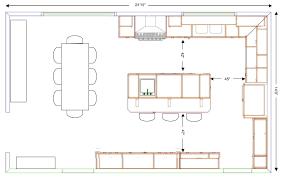 kitchen island plan kitchen island layout cool idea 9 how to an efficient floor plan