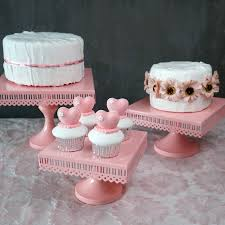 pink cake stand sweetgo square cake stand pink cake tools high quality baby girl